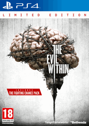 Boxart van The Evil Within Limited Edition (PS4), Tango Gameworks