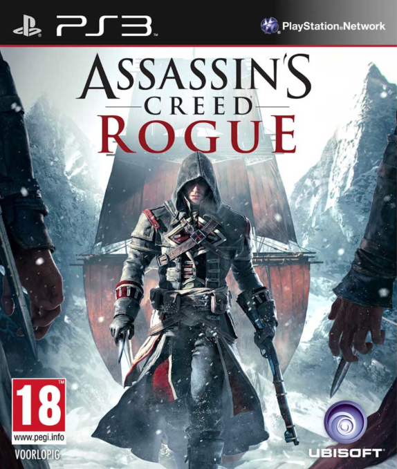 Boxart van Assassin's Creed: Rogue (PS3), Ubisoft Sofia