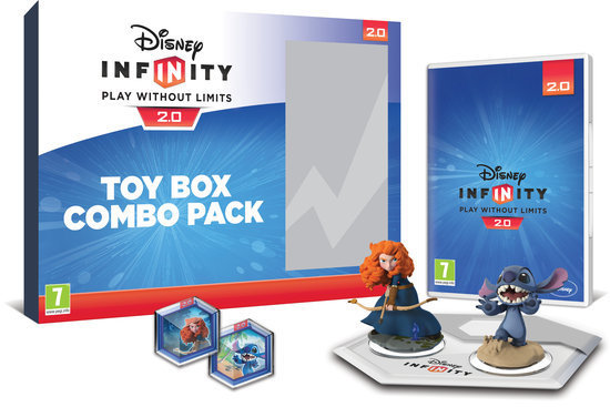 Boxart van Disney Infinity 2.0 Toy Box Combo Pack (Wiiu), Avalanche Software