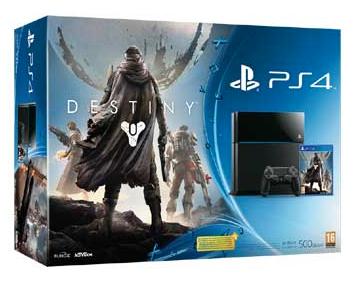Boxart van PlayStation 4 (500 GB) + Destiny (PS4), Sony Computer Entertainment