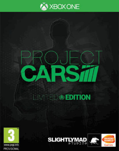 Boxart van Project Cars Limited Edition (Xbox One), Slightly Mad Studios