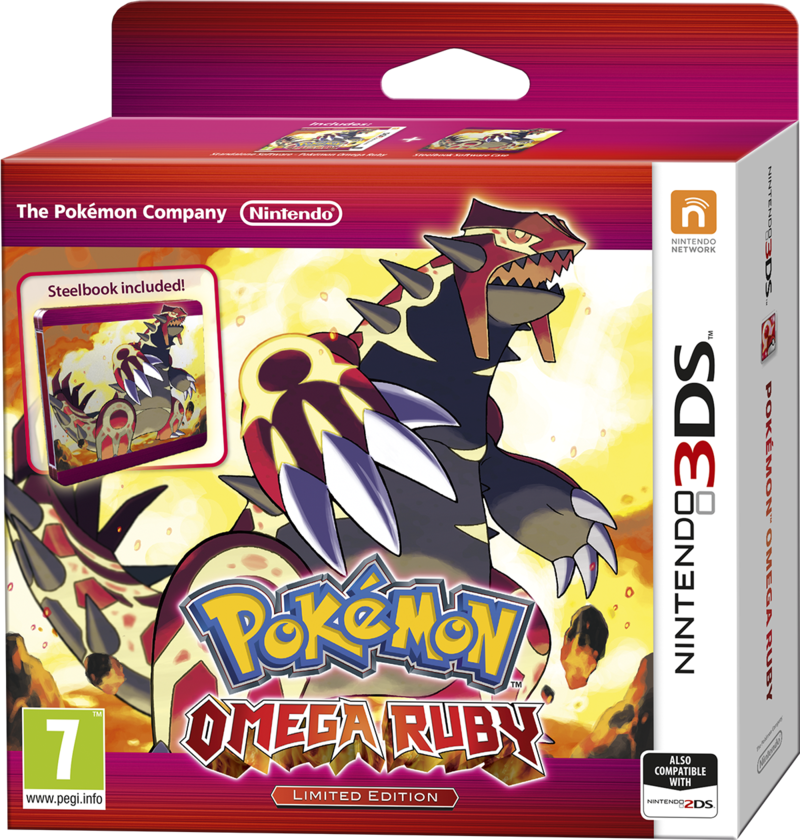 Boxart van Pokemon: Omega Ruby Limited Edition (3DS), Nintendo