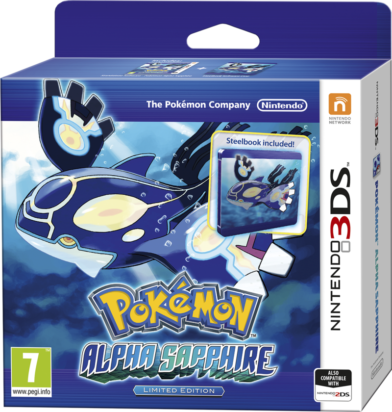 Boxart van Pokemon: Alpha Sapphire Limited Edition (3DS), Nintendo