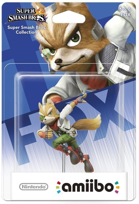 Super Smash Bros Amiibo Figuur Fox