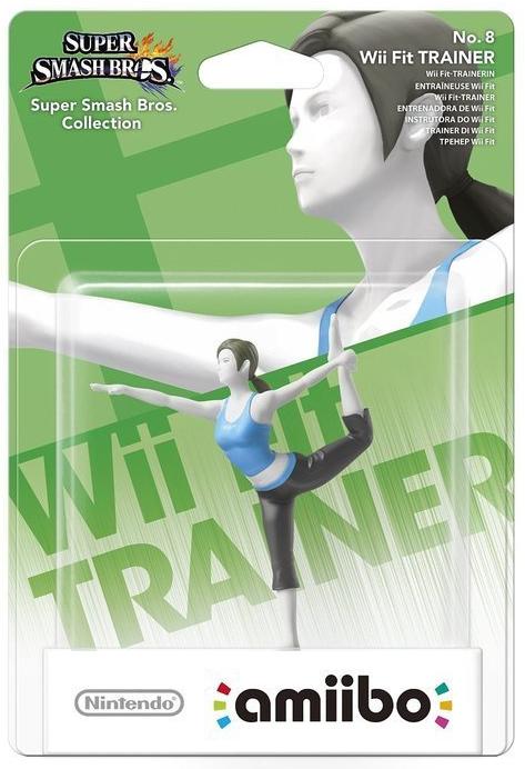 Boxart van Super Smash Bros Amiibo Figuur Wii Fit Trainer (NFC), Nintendo