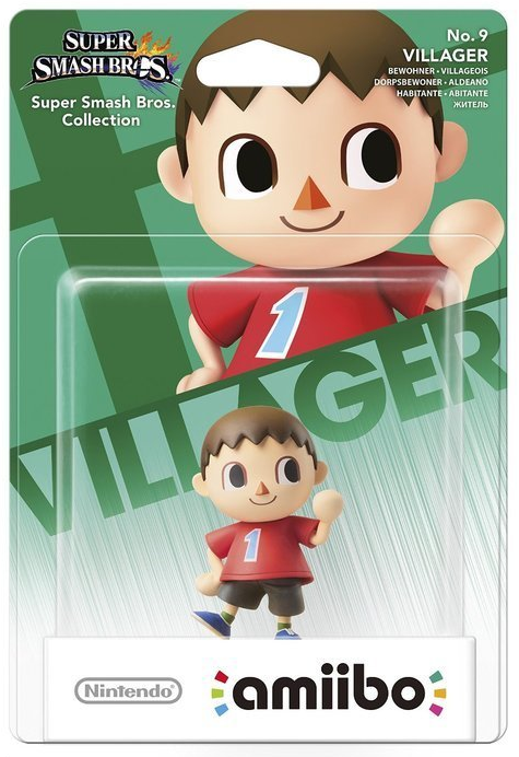 Super Smash Bros Amiibo Figuur Villager
