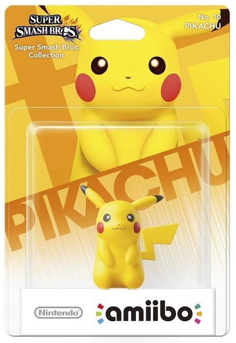 Boxart van Super Smash Bros Amiibo Figuur Pikachu (NFC), Nintendo