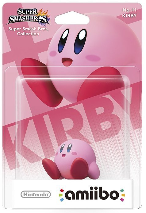 Super Smash Bros Amiibo Figuur Kirby