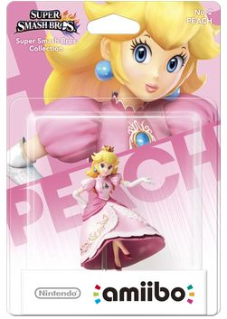 Super Smash Bros Amiibo Figuur Princess Peach