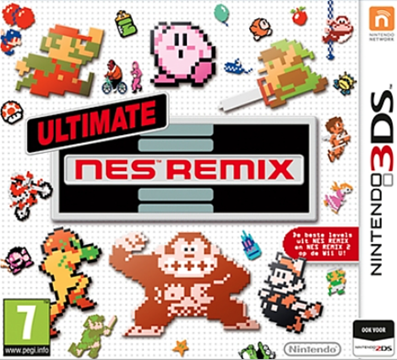 Boxart van Ultimate NES Remix (3DS), Nintendo