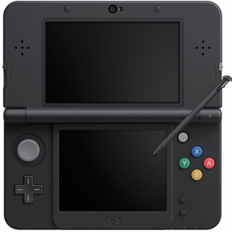 Boxart van New Nintendo 3DS Console (Zwart) (3DS), Nintendo
