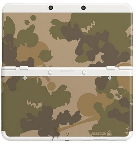 New 3DS Coverplates 17: Mario Camouflage