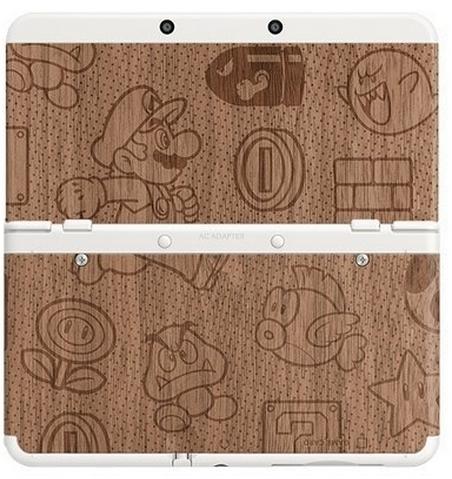 Boxart van New 3DS Coverplates: Mario Wood (3DS), Nintendo