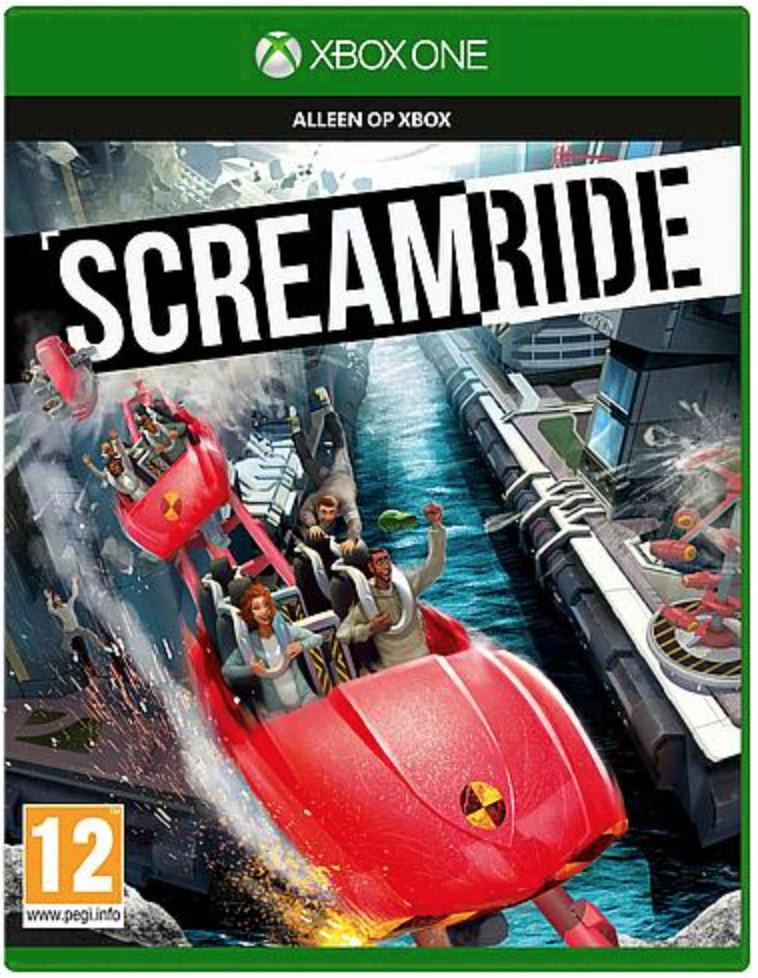 Boxart van Screamride (Xbox One), Microsoft