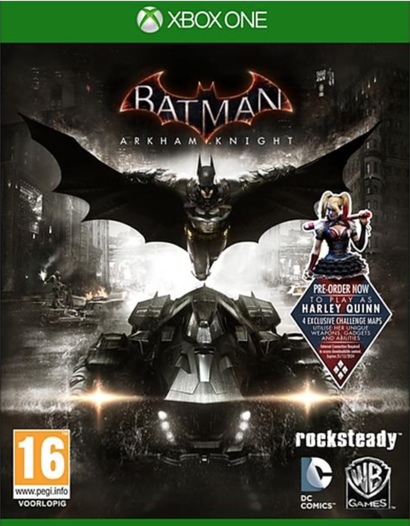 Boxart van Batman: Arkham Knight (Xbox One), Rocksteady Studios