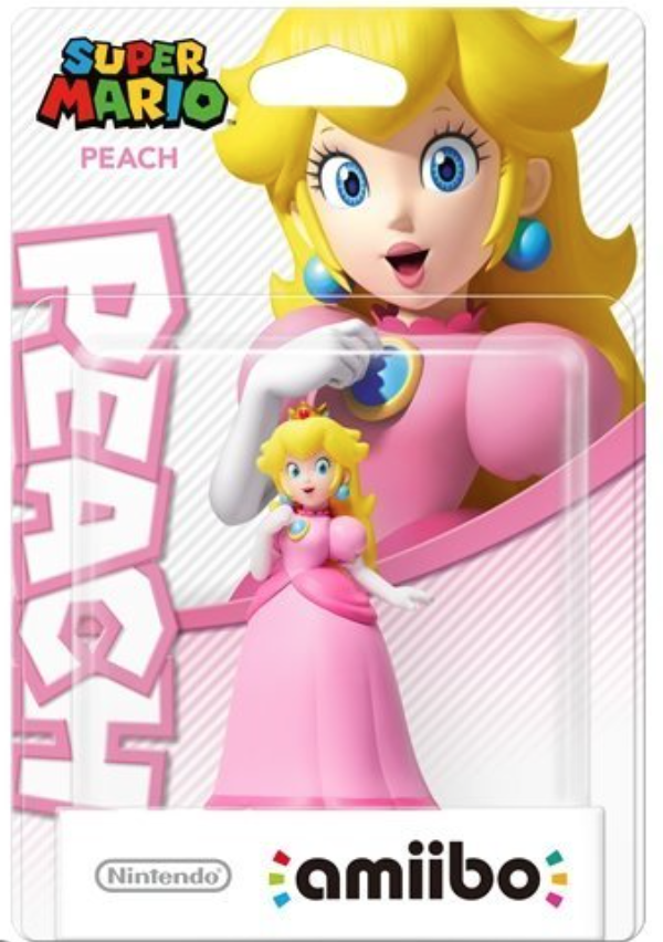 Super Mario Amiibo Figuur Princess Peach