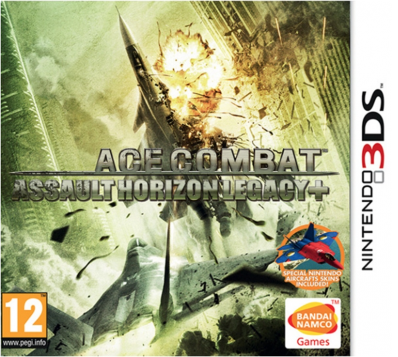Boxart van Ace Combat: Assault Horizon Legacy Plus (+) (3DS), Namco Bandai