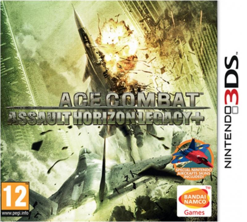Boxart van Ace Combat: Assault Horizon Legacy Plus (+) (3DS), Namco Bandai