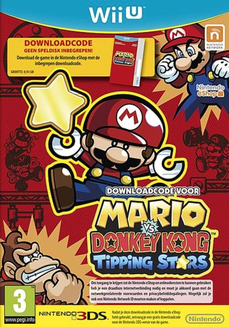 Boxart van Mario vs. Donkey Kong: Tipping Stars (code in doos) (Wiiu), Nintendo