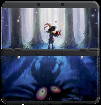 Boxart van New 3DS Coverplates 23: Majora's Mask (3DS), Nintendo