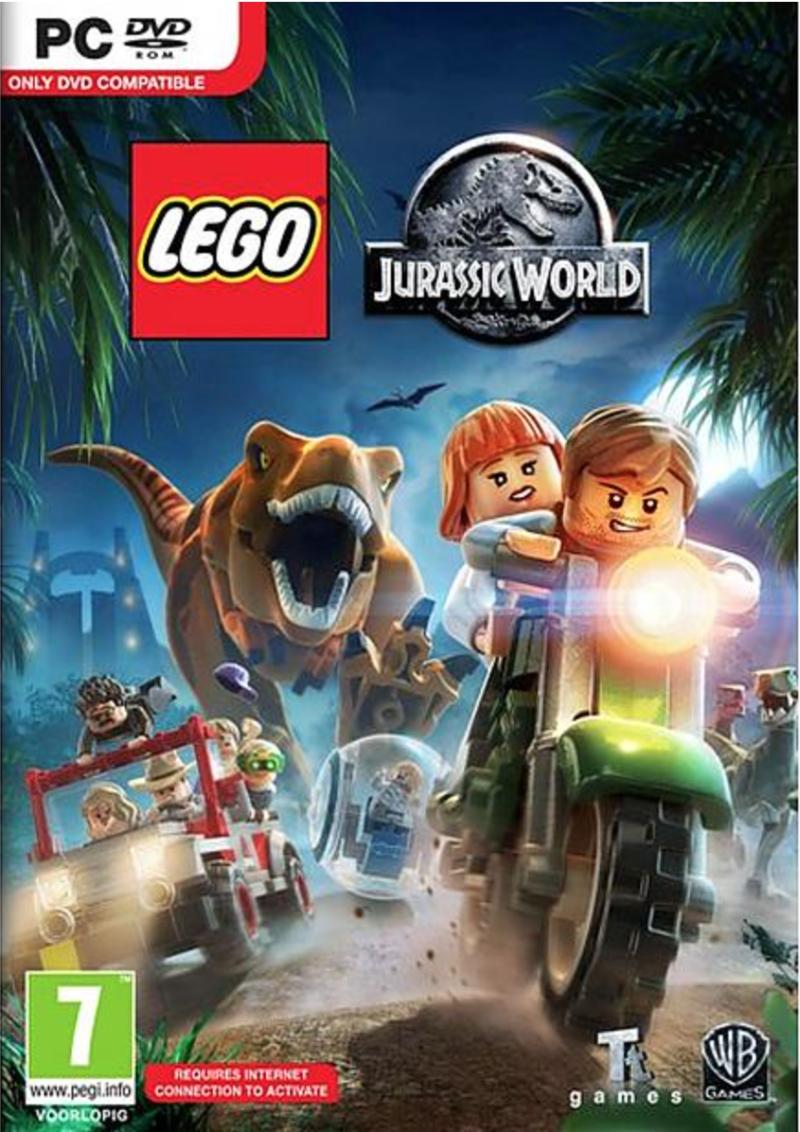 Boxart van LEGO Jurassic World (PC), Travellers Tales