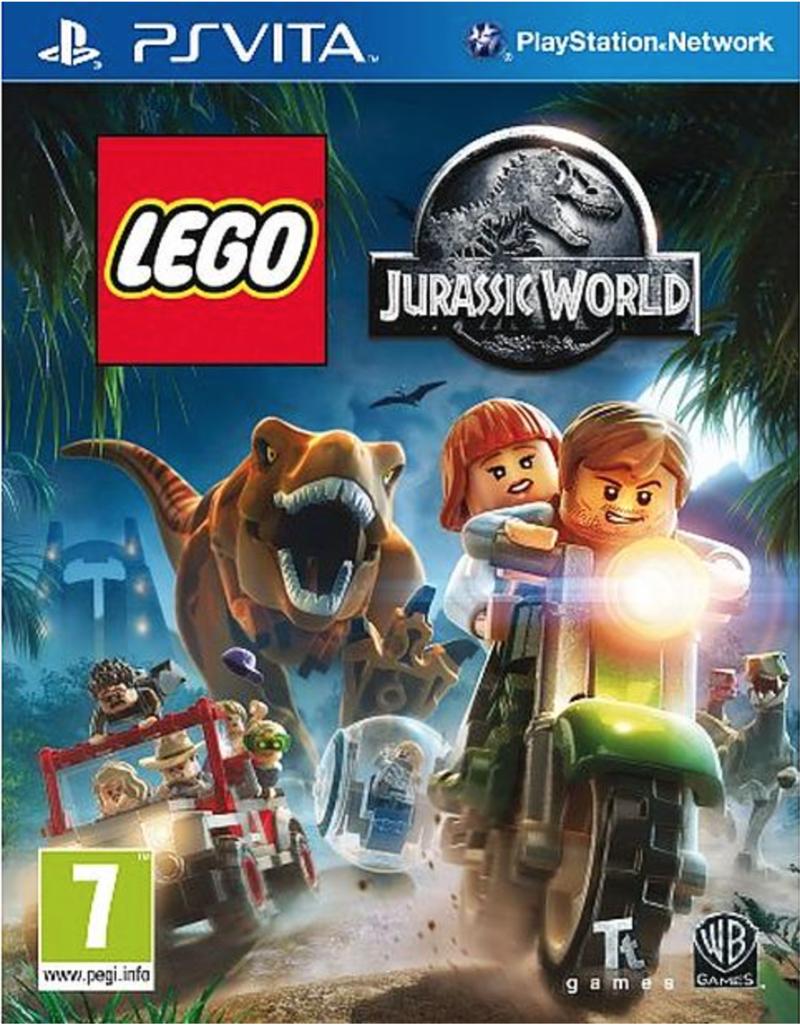 Boxart van LEGO Jurassic World (PSVita), Travellers Tales