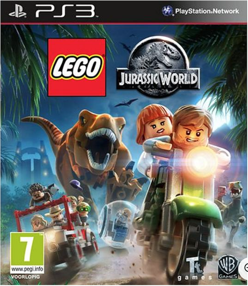 Boxart van LEGO Jurassic World (PS3), Travellers Tales