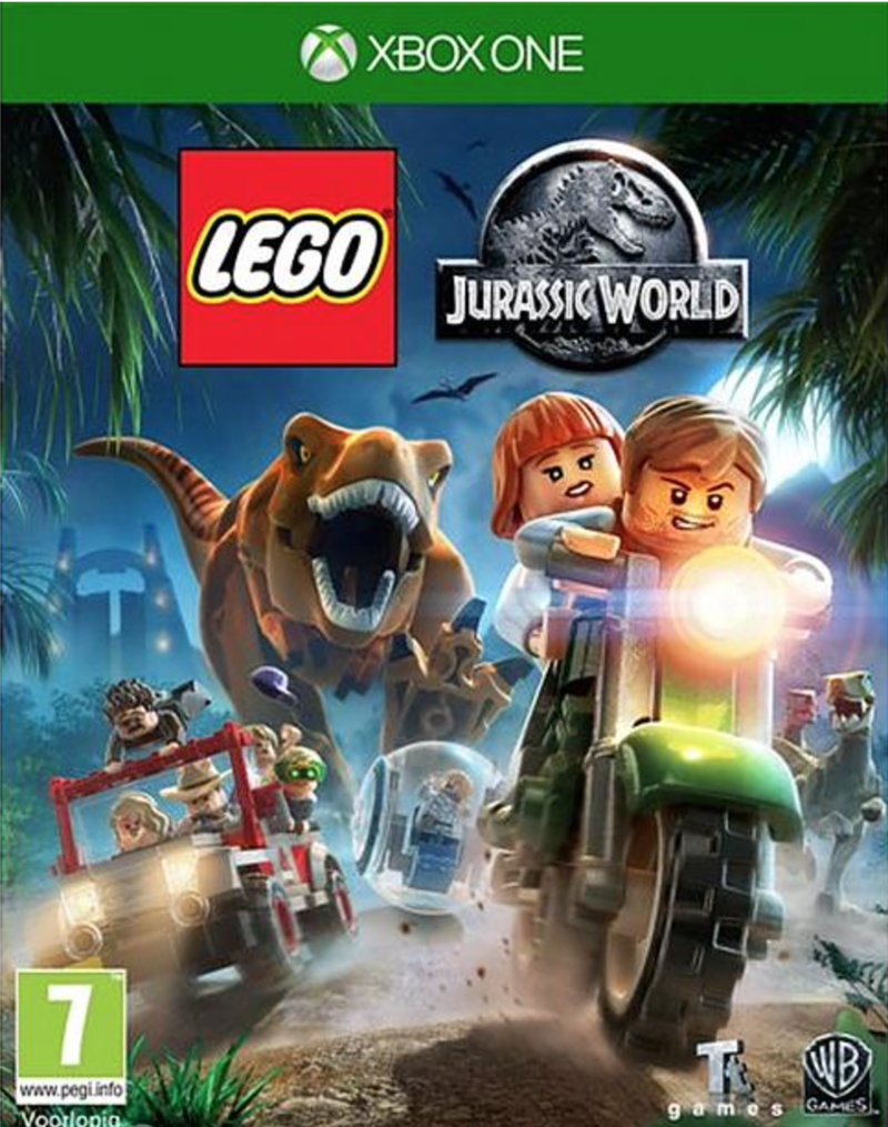 Boxart van LEGO Jurassic World (Xbox One), Travellers Tales