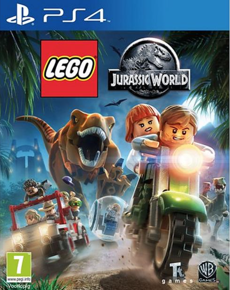Boxart van LEGO Jurassic World (PS4), Travellers Tales