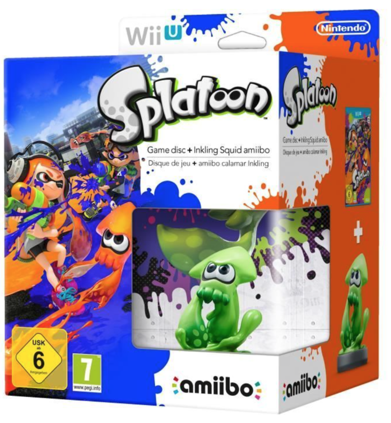 Splatoon Amiibo Bundle
