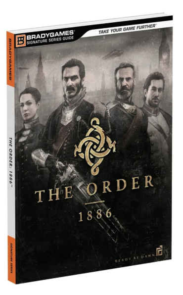 Boxart van The Order 1886 Strategy Guide (Guide), Brady Games