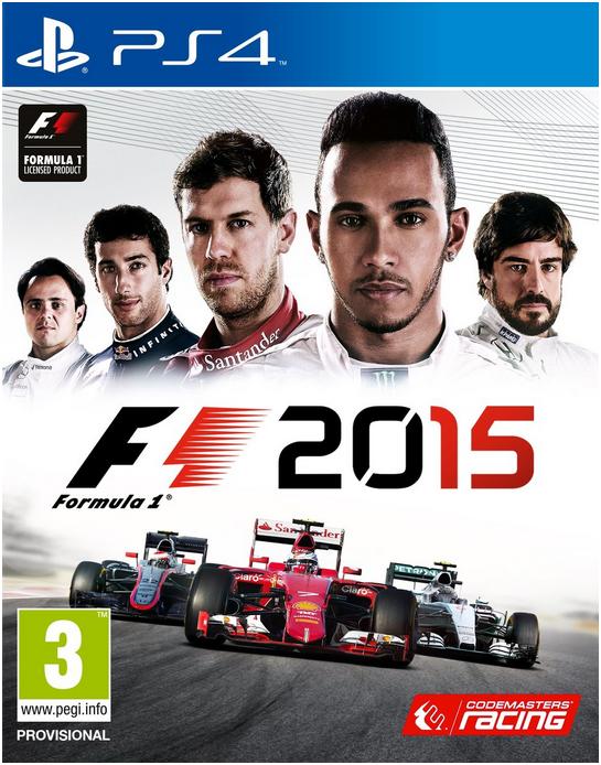 Boxart van F1 2015 (PS4), Codemasters