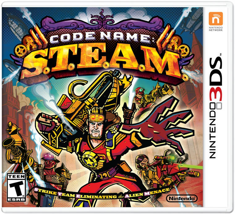 Boxart van Code Name: S.T.E.A.M. (3DS), Intelligent Systems