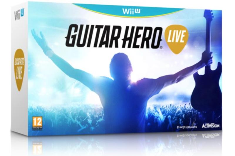 Boxart van Guitar Hero Live Gitaar Bundel (Wiiu), FreeStyleGames