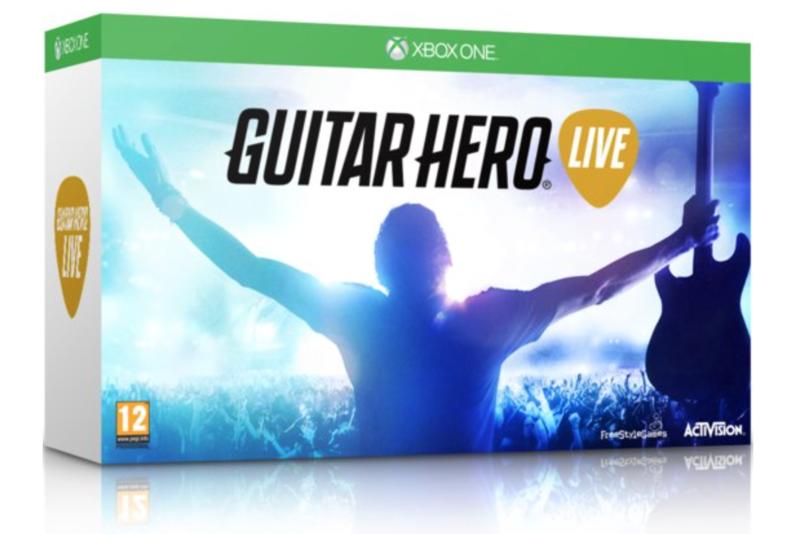 Boxart van Guitar Hero Live Gitaar Bundel (Xbox One), FreeStyleGames