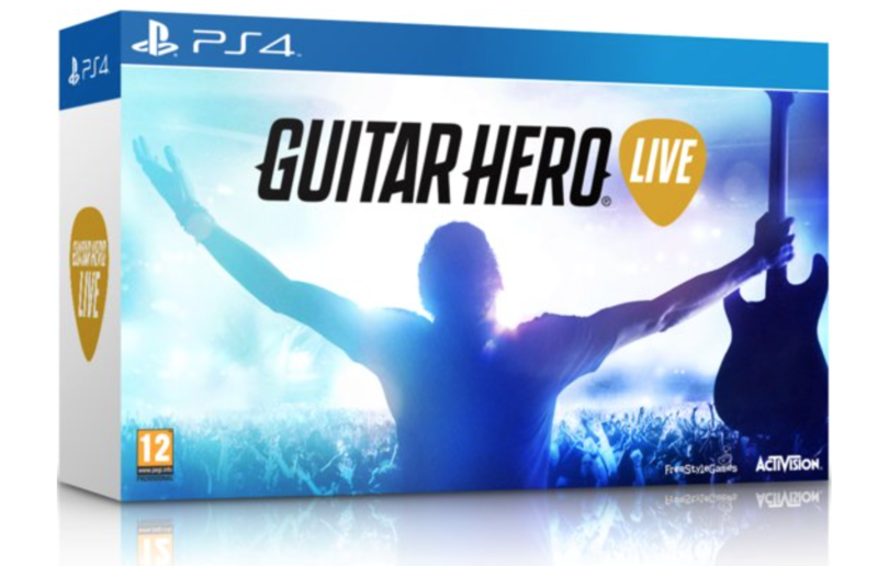 Boxart van Guitar Hero Live Gitaar Bundel (PS4), FreeStyleGames
