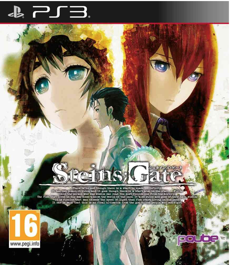 Boxart van Steins;Gate (PS3), Pqube