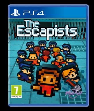 Boxart van The Escapists (PS4), Team 17 Digital
