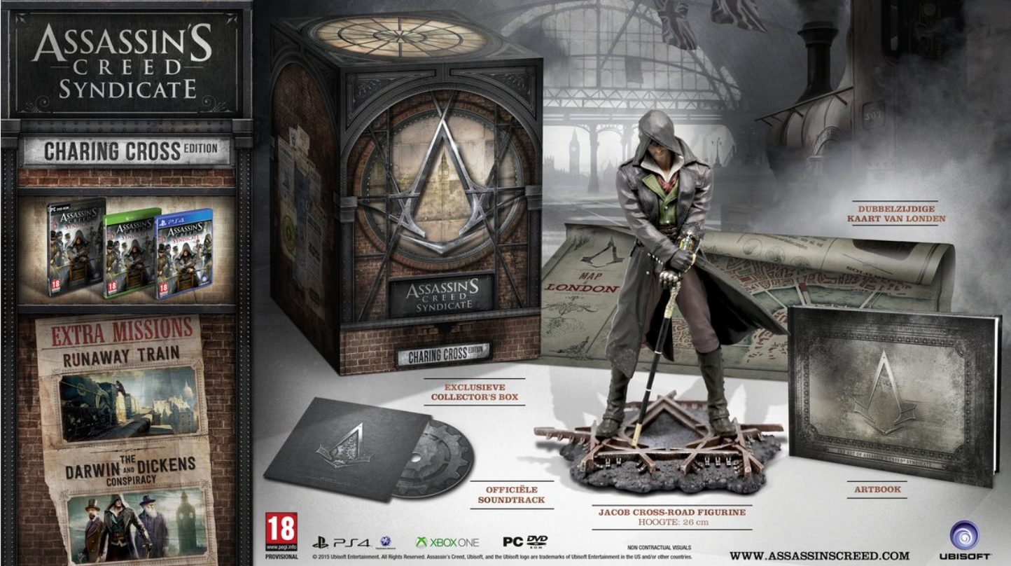 Boxart van Assassin's Creed: Syndicate - Charing Cross Edition (PS4), Ubisoft Quebec