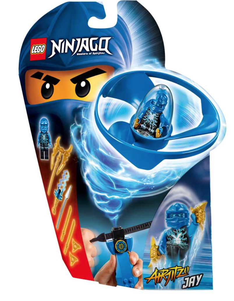 Boxart van Airjitzu Jay Flyer (Ninjago) (Lego), Ninjago