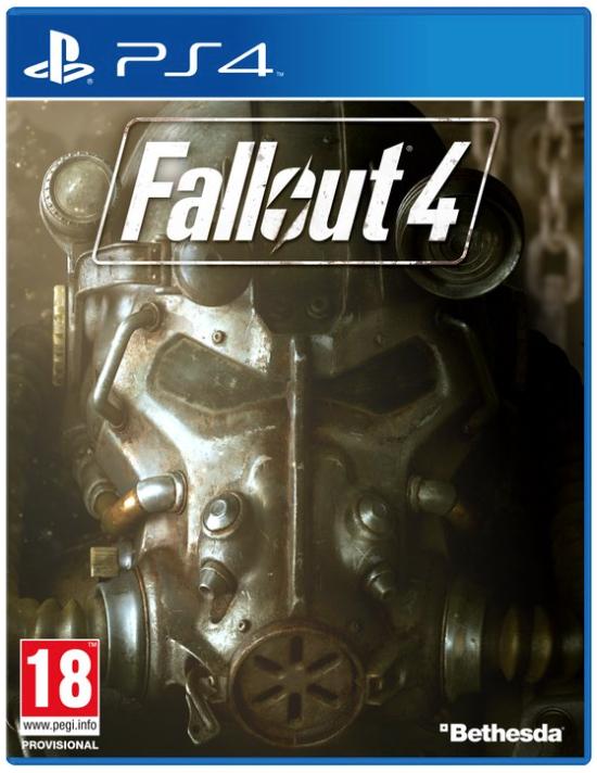 Boxart van Fallout 4 (PS4), Bethesda