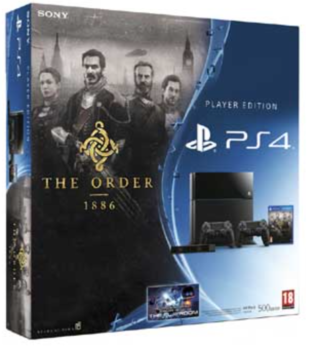 Boxart van PlayStation 4 (500 GB) + The Order 1886 + 2 Controllers + PS4 Camera (PS4), Sony