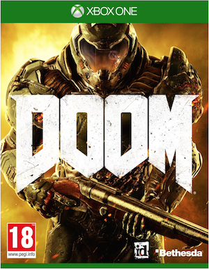 Boxart van Doom (Xbox One), Id Software