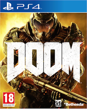 Boxart van Doom (PS4), Id Software
