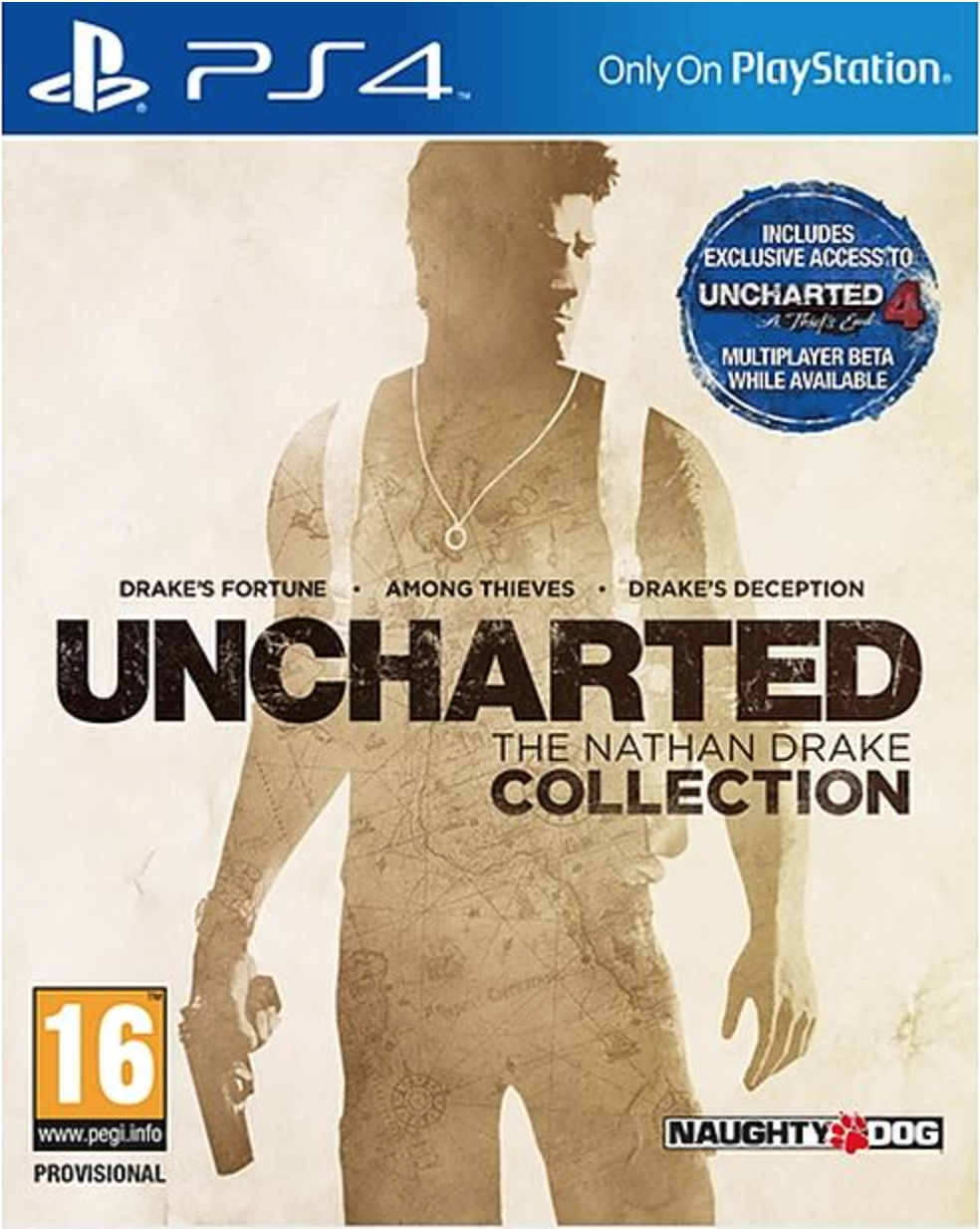 Boxart van Uncharted: The Nathan Drake Collection (PS4), Sony Computer Entertainment