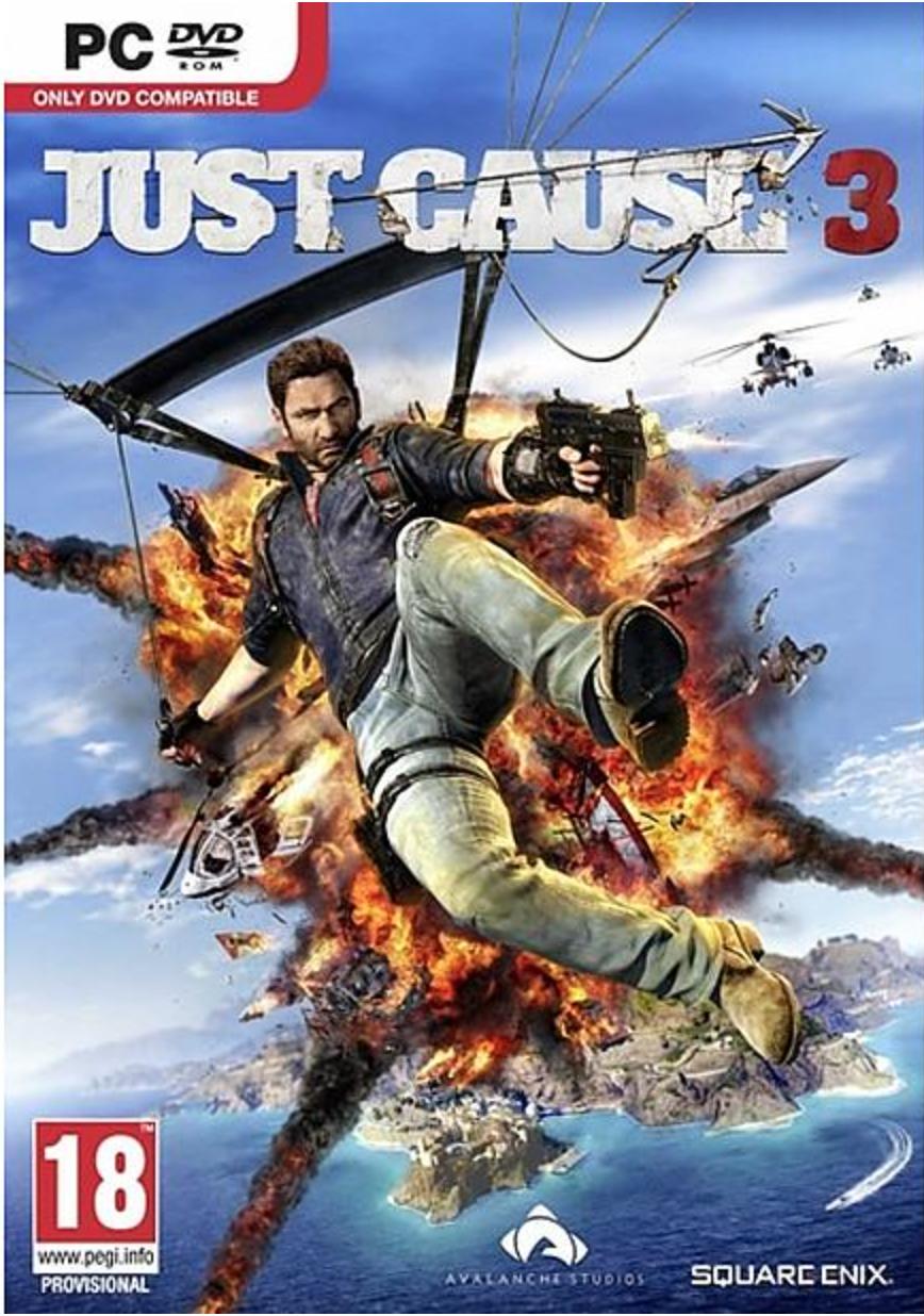 Boxart van Just Cause 3  (PC), Avalanche Studios