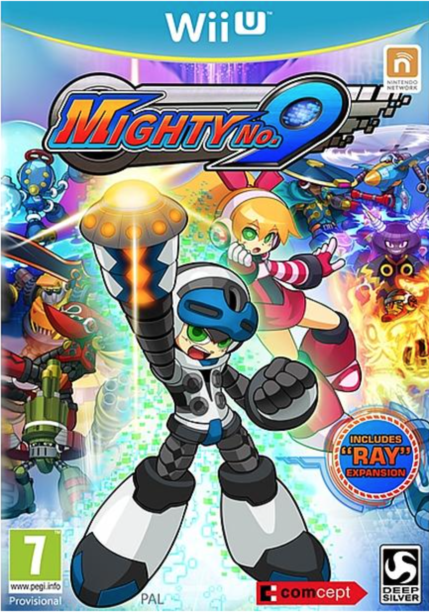 Boxart van Mighty No. 9 (Wiiu), Comcept