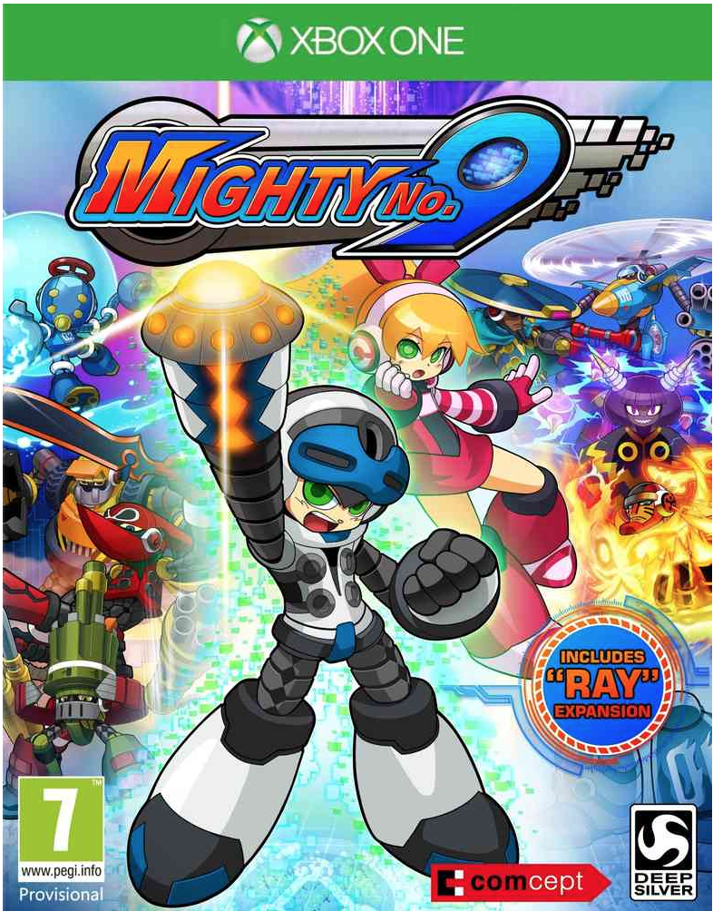 Boxart van Mighty No. 9 (Xbox One), Comcept