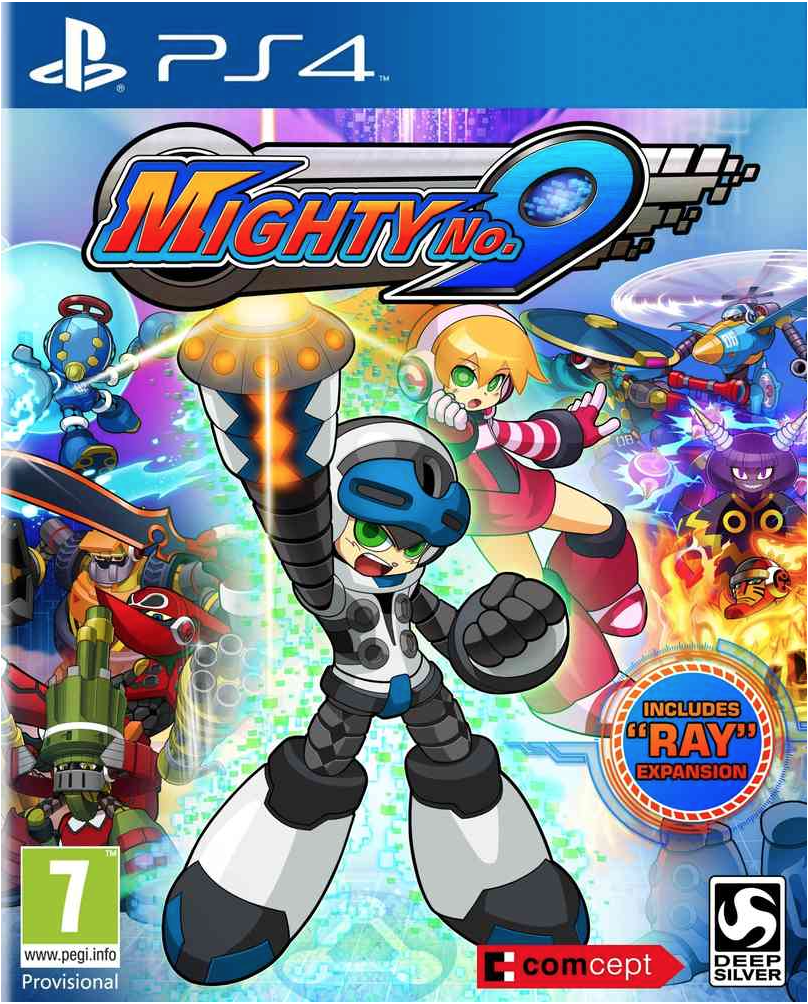 Boxart van Mighty No. 9 (PS4), Comcept