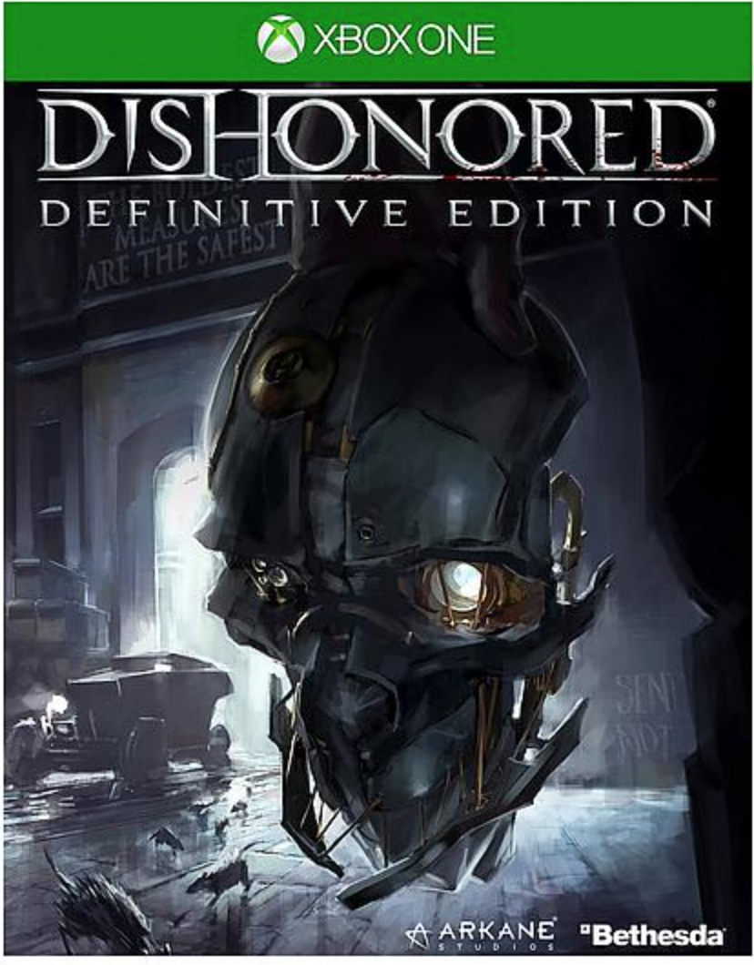 Boxart van Dishonored: Definitive Edition (Xbox One), Bethesda Softworks